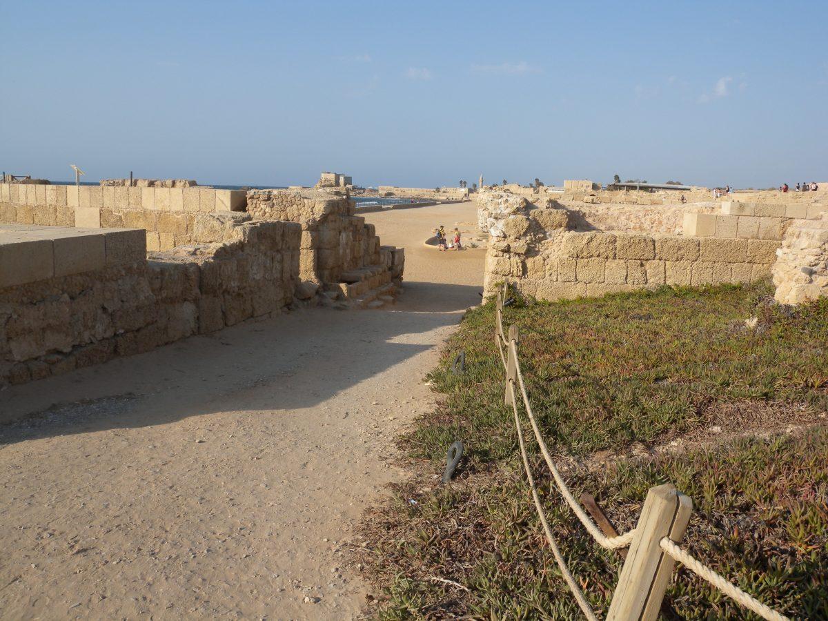 Near Herod's house